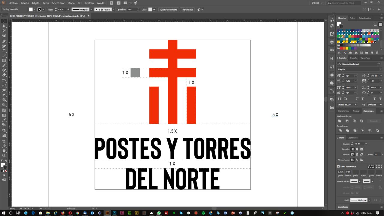 Proyecto Postes y Torres del Norte | Imagen e identidad corporativa